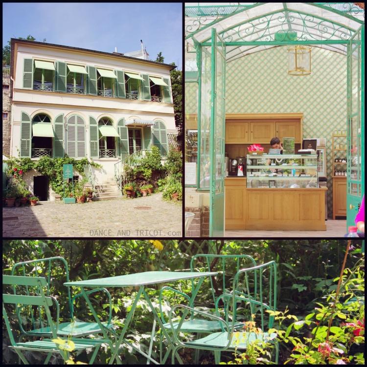 Le jardin du Musée de la vie romantique