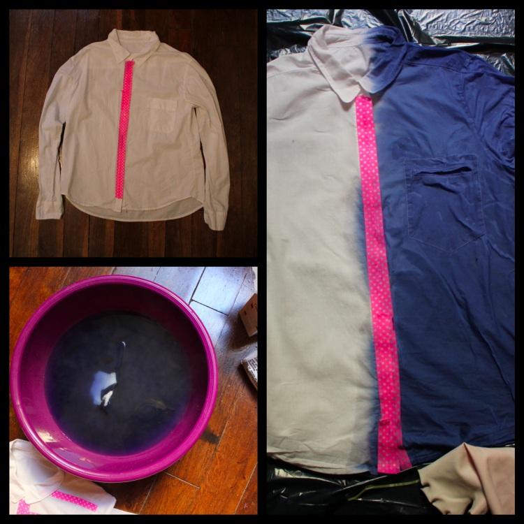 chemise bicolore 2