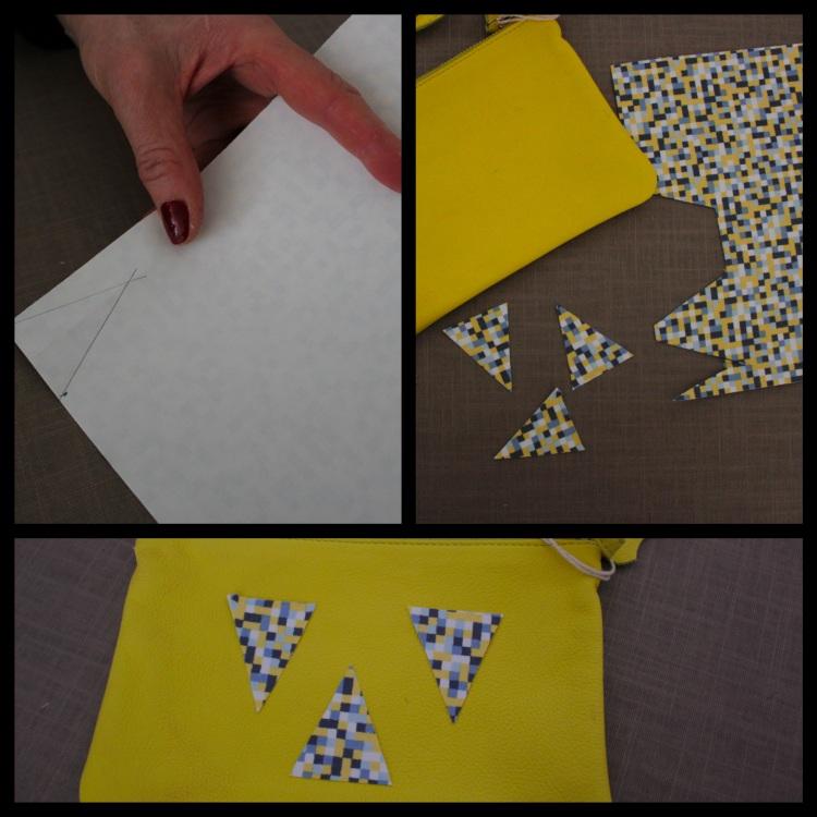 pochette triangle 2