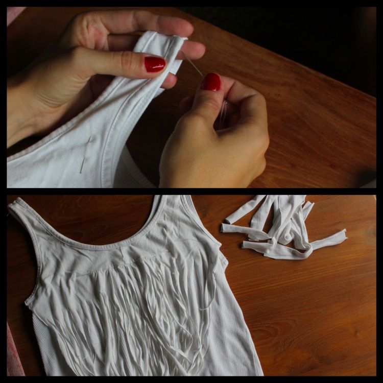 tee shirt franges 5