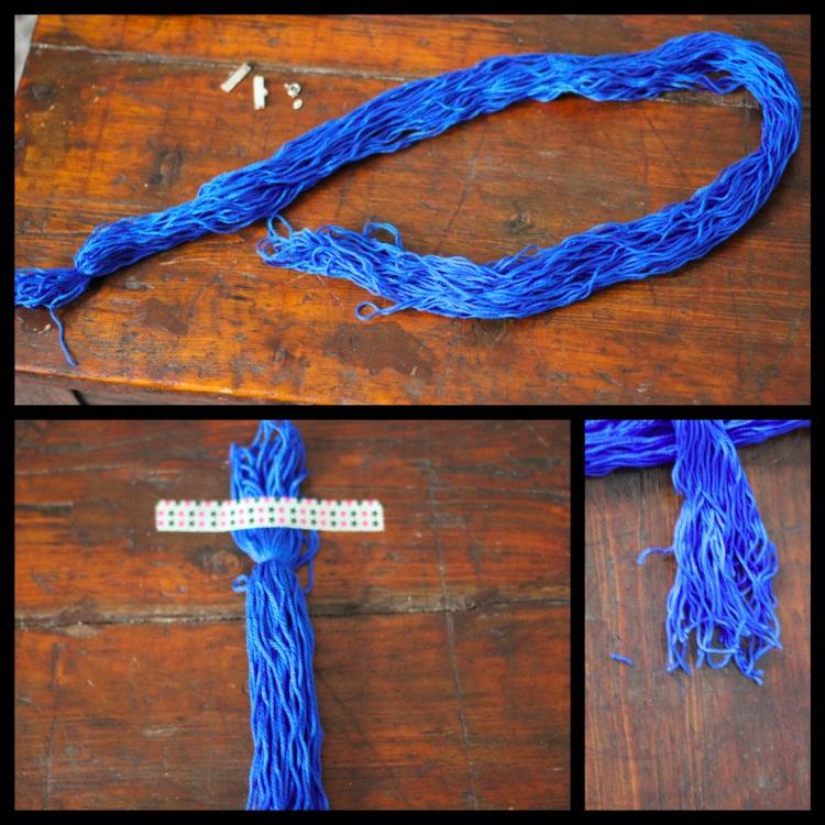 collier tresse laine 2