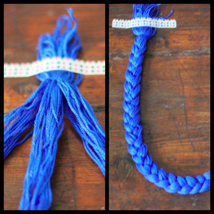 collier tresse laine 3