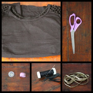 tee shirt lacets 1